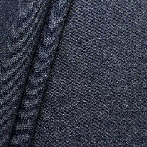 100 baumwolle denim jeans stoff schwere qualitt meterware indigo blau
