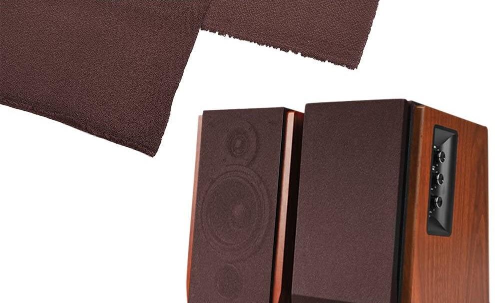 Akustikstoff Meterware ist zum Bespannen von Lautsprecher geeignet