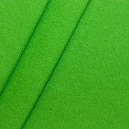 B1 Bühnen - Molton Stoff Meterware Breite 300cm Green Box