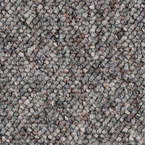 BODENMEISTER BM72181 Teppichboden Auslegware Meterware Schlinge grau 200, 300, 400 und 500 cm breit, verschiedene Längen, Variante, 4,5 x 5 m