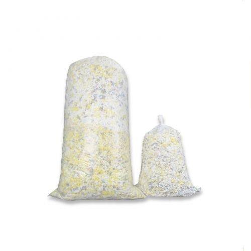 Fränkische Schlafmanufaktur 10kg Polyurethan - Kaltschaumflocken, Schaumstoffflocken für Kissenfüllungen, Basteln