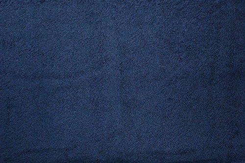 Frottee uni , marine, 100 % Baumwolle, 150cm