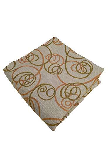 Generischer Stoff für Sofas, Meterware, 280 cm x 280 cm, Gobelin, geeignet für seitliche Tischdecken, Volants
