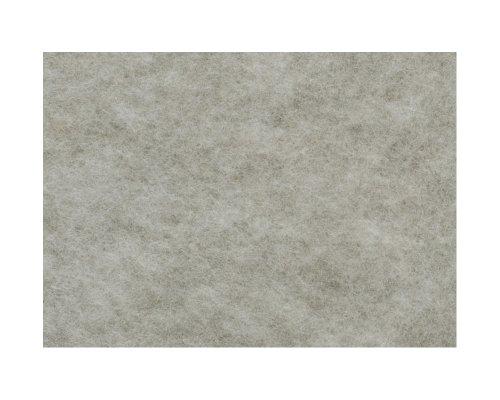 Knorr Prandell 2506181 - Wollvlies Merinowolle 190x 14 cm, im Beutel, grau