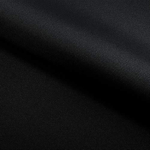 NOVELY Oxford 210D   Polyester   anschmiegsam nachgiebig   Meterware Segeltuch Schwarz