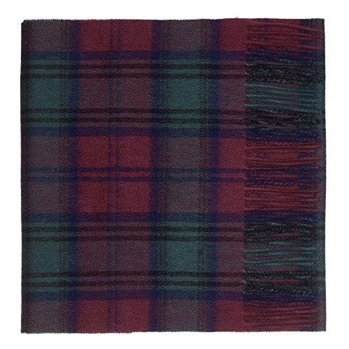 Oxfords Cashmere Reine Schurwolle Luxury Tartan Schal (Lindsay)