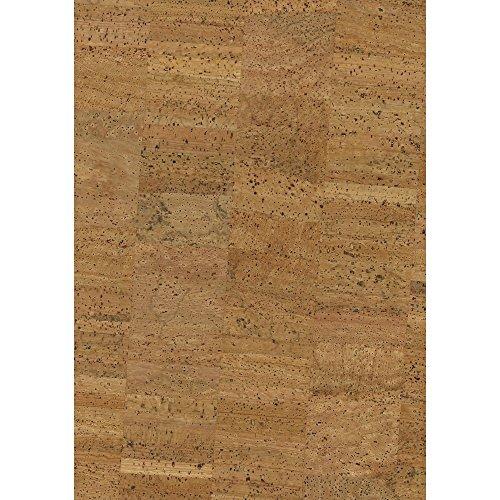 Rayher 63009000 Korkstoff Natur 45x30cm gerollt, 0,8 mm Stärke, Box 1Rolle, Kork, Mehrfarbig, 3.3 x 0.6 x 0.5 cm