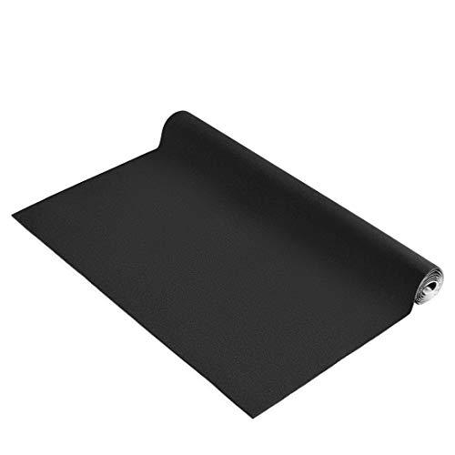 Selbstklebender HiFi Bespannstoff, schalldicht (Bezugsstoff für Door-/Soundboards, Subwoofer-Boxen, Lautsprecher, Heckablagen, KFZ-Verkleidung, 70x 140cm) Antidröhnmatte, Akustik-Stoff, schwarz