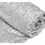 shinybeauty pailletten stoff meterware schwarz 1 meter sparkly stoff