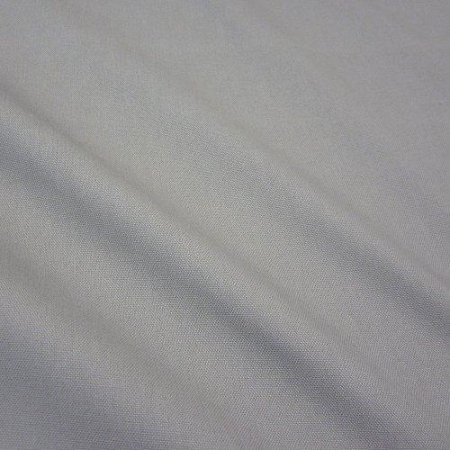 Stoff Meterware Baumwollstoff Panama Canvas grau hellgrau stabil
