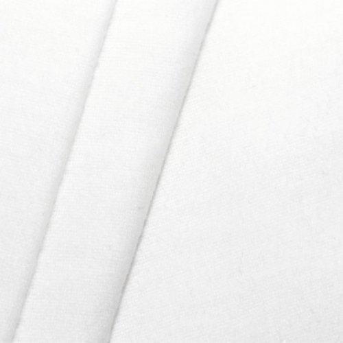 STOFFKONTOR B1 Deko - Molton Stoff Meterware Breite 300 cm Weiss