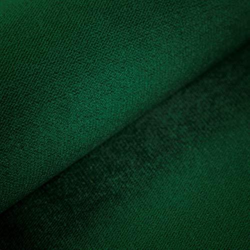 Velvet Krono, weich und elegant, Samtstoff, Möbelstoff, Polsterstoff Möbel Sitzbezug Stoff, Meterware - Grün 19